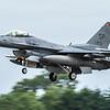 F16 Falcon - USAF - 52FW - 480FS - SP AF 90-813 - RIAT Arrivals - RAF Fairford (July 2017)