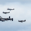BBMF - Thompson Display 5 Ship incl Lancaster - RIAT - RAF Fairford (July 2017)