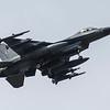 F16 Falcon - Arriving - Dutch Airforce - RIAT - RAF Fairford (July 2017)