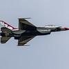 F16 Falcon - Thunderbirds - RIAT - RAF Fairford (July 2017)
