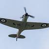 Spitfire - MkIIa - P7350 - RIAT - RAF Fairford (July 2017)
