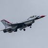 F16 Falcon - Thunderbirds - RIAT - RAF Fairford (July 2017)