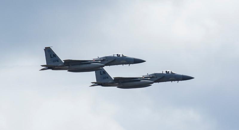 F15 C Eagle - RIAT - RAF Fairford (July 2017)