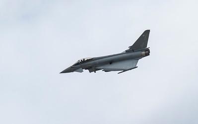 Eurofighter Typhoon - RAF Display - RIAT - RAF Fairford (July 2017)