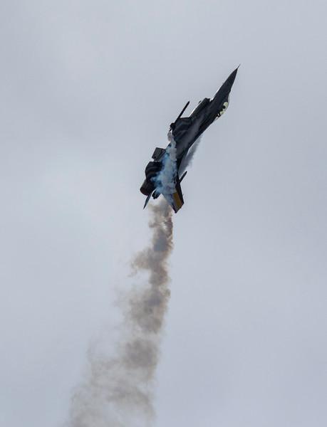 F16 Falcon - Belgian Display - RIAT - RAF Fairford (July 2017)