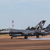 F16 Falcon - Belgian Airforce - 1st Squadron - RIAT Departures - RAF Fairford (July 2017)