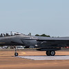 F15 E Strike Eagle - USAF - RIAT Departures - RAF Fairford (July 2017)