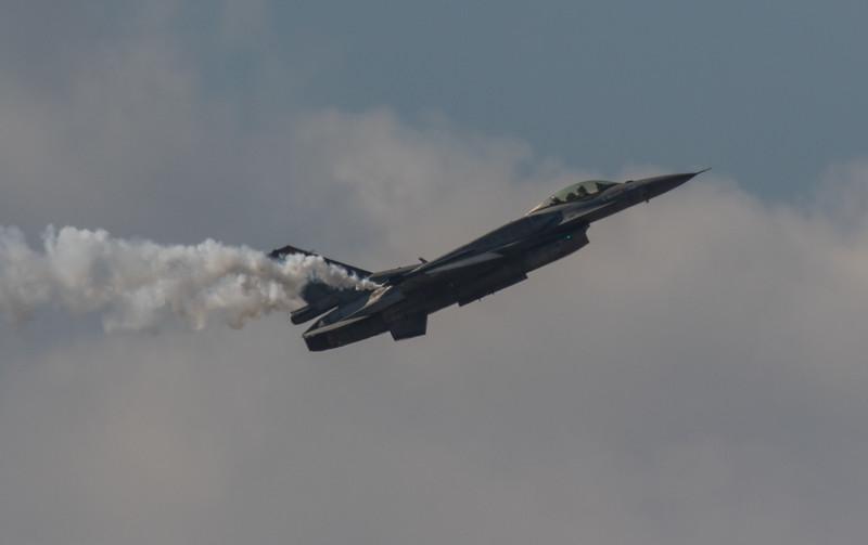 F16 Falcon - Hellenic Airforce - Team Zeus - RIAT - RAF Fairford (July 2018)