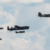 BBMF - Trenchard Display - Lancaster - Dakota - Spitfire - Hurricane - RIAT - RAF Fairford (July 2018)