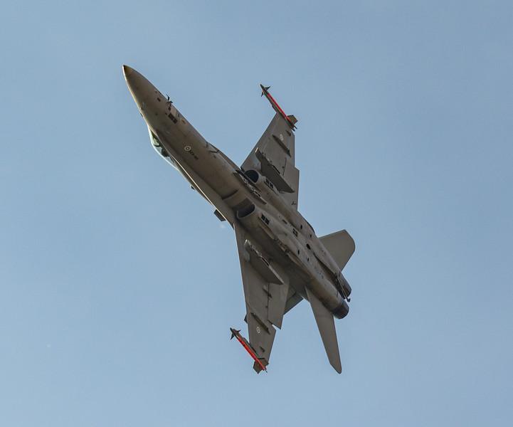 F18 Hornet - Finnish Airforce - RIAT - RAF Fairford (July 2018)