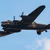 BBMF - Trenchard Display - Lancaster - RIAT - RAF Fairford (July 2018)
