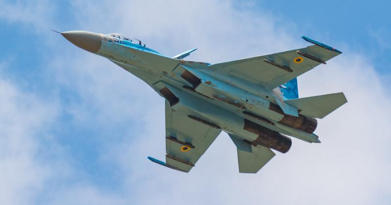Sukhoi Su-27 Flanker - Ukrainian Airforce - RIAT - RAF Fairford (July 2018)