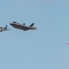 USAF Heritage Flight - F35A - P51 - Spitfire - RIAT - RAF Fairford (July 2018)