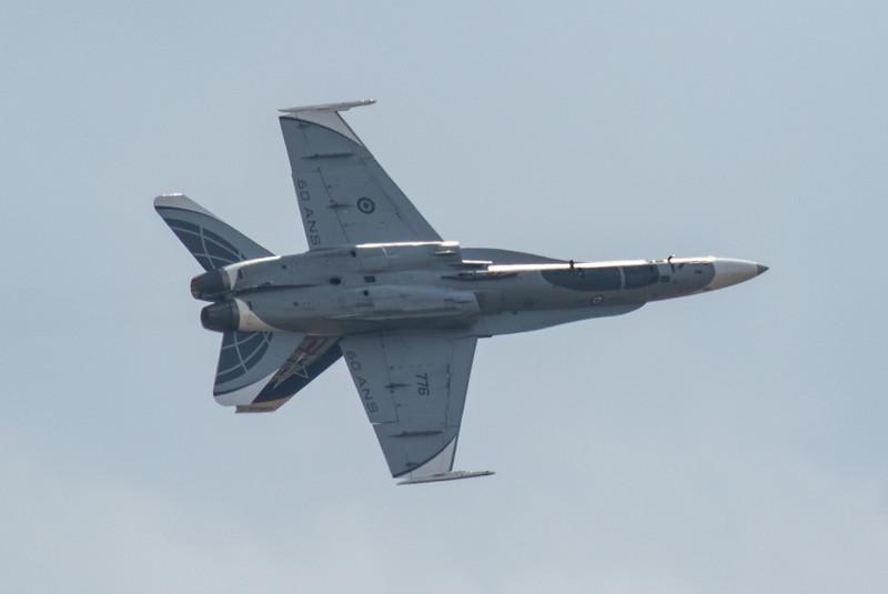 F18 Hornet - Royal Canadian Airforce Display - RIAT - RAF Fairford (July 2018)