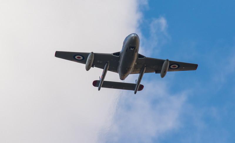 de Havilland Vampire - T.55 - RIAT - RAF Fairford (July 2018)