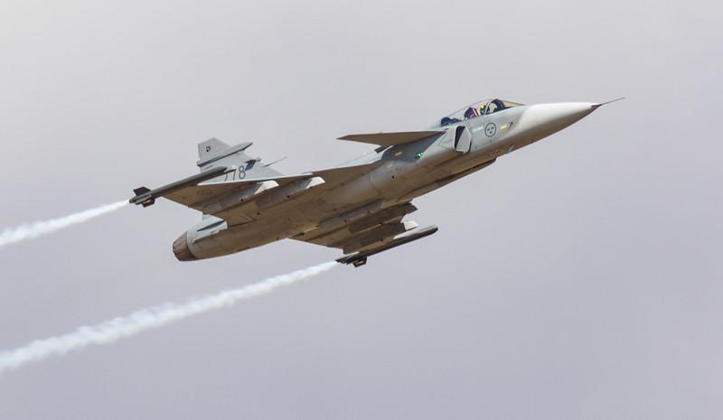 JAS-39C Gripen - Swedish - F7 - RIAT - RAF Fairford (July 2018)