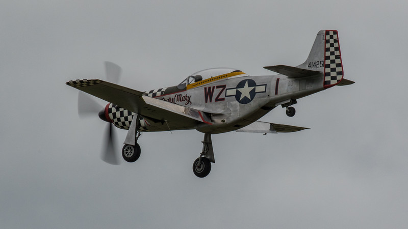 "P51 Mustang ""Contrary Mary"" - IWM Duxford (May 2019)"