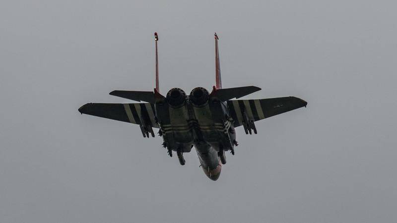 """F15-E Strike Eagle - 48FW - 492FS - LN AF 97-0219 """"Heritage Special"""" - IWM Duxford (May 2019)"""