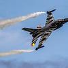 F16 Falcon - FA-101 - 2 Wing - F-16MLU Dark Falcon - Captain Stefan Darte 'Vador' - Belgian Airforce Display - RIAT - RAF Fairford (July 2019)