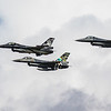 F16 Falcon - Flypast - Dark Falcon - 349 & 350 Sqn D-Day 75th Anniversary - Belgian Airforce - RIAT - RAF Fairford (July 2019)