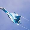 Sukhoi Su-27UB 'Flanker' - Ukrainian Airforce - RIAT - RAF Fairford (July 2019)