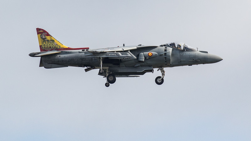 EAV-8B Harrier II - Spanish Navy - RIAT - RAF Fairford (July 2019)