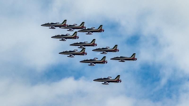 Frecce Tricolori - Italian Display Team - AT-339A - RIAT - RAF Fairford (July 2019)