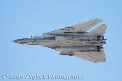 F-14 bottom side view