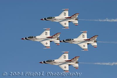The USAF Thunderbirds 2004