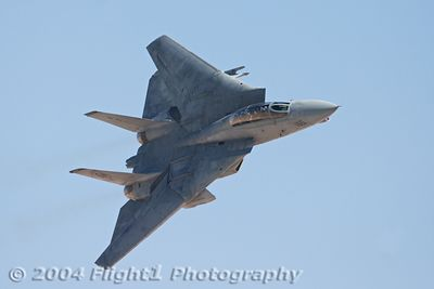 The F-14 in the High Speed Pass, for maybe the last time ever