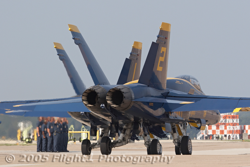 Blue Angel #1 and #2 taxi