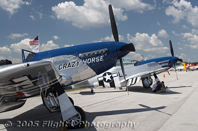 "Stallion 51 of Kissimmee now has two TF-51s - ""Crazy Horse"" and the brand new ""Crazy Horse 2"""