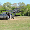 a Blackhawk taking off from grassy area...12 seconds