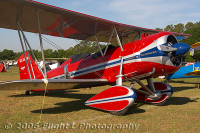 A very custom Stearman