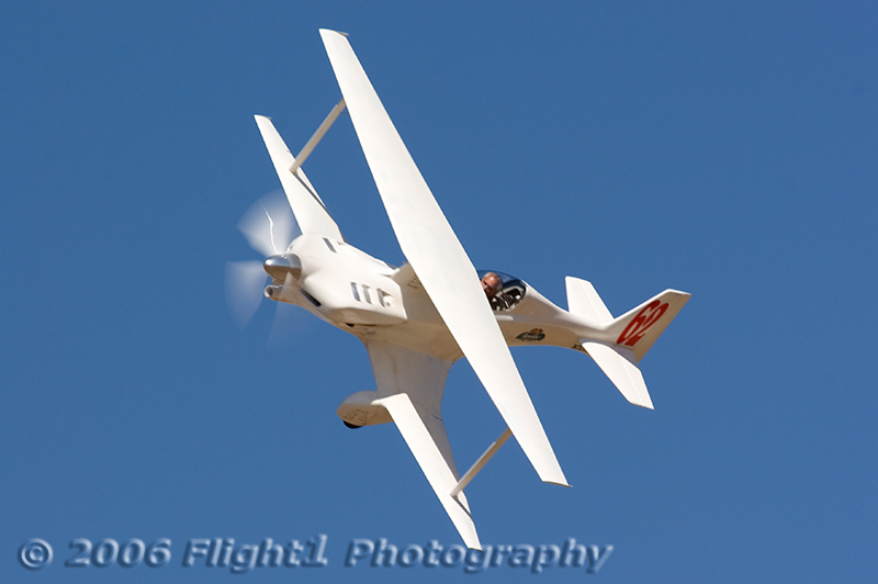 Biplane Race 62, Phantom, flown by Tom Aberle to first place in the Biplane Gold