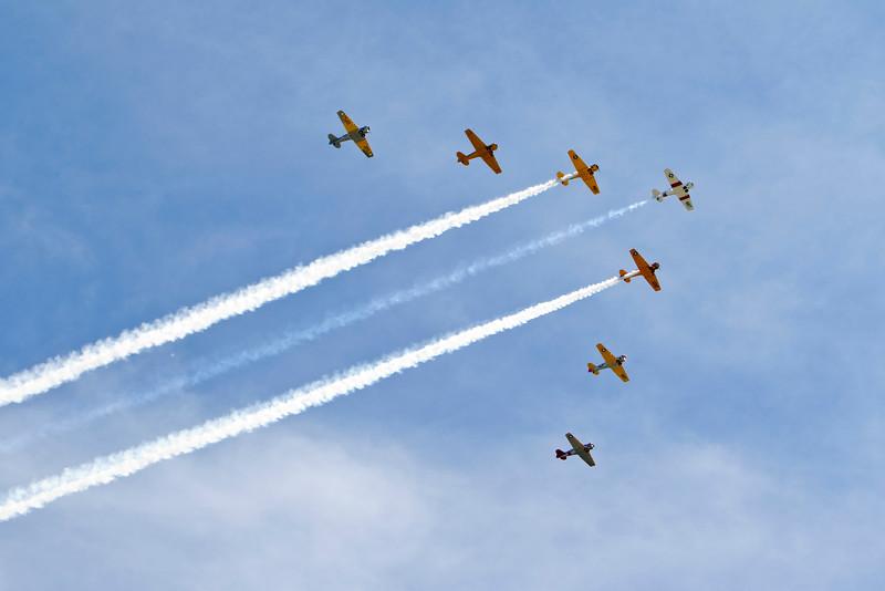 T6 Texan Flyover