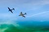 Le Sea fury present a Sion possede des ailes repliables, cet avion de la Royal Navy etait embarque sur porte-avion. Un Sea Fury de l'airforce cubaine a descendu un B-26 lors de l'invasion de la baie des cochons. Il est expose au Musee de la revolution a Cuba. C'est le meme ingenieur qui a dessine le Hunter et le Sea Fury, ce qui explique le vol conjoint du Hunter et du Sea Fury lors du meeting de Sion