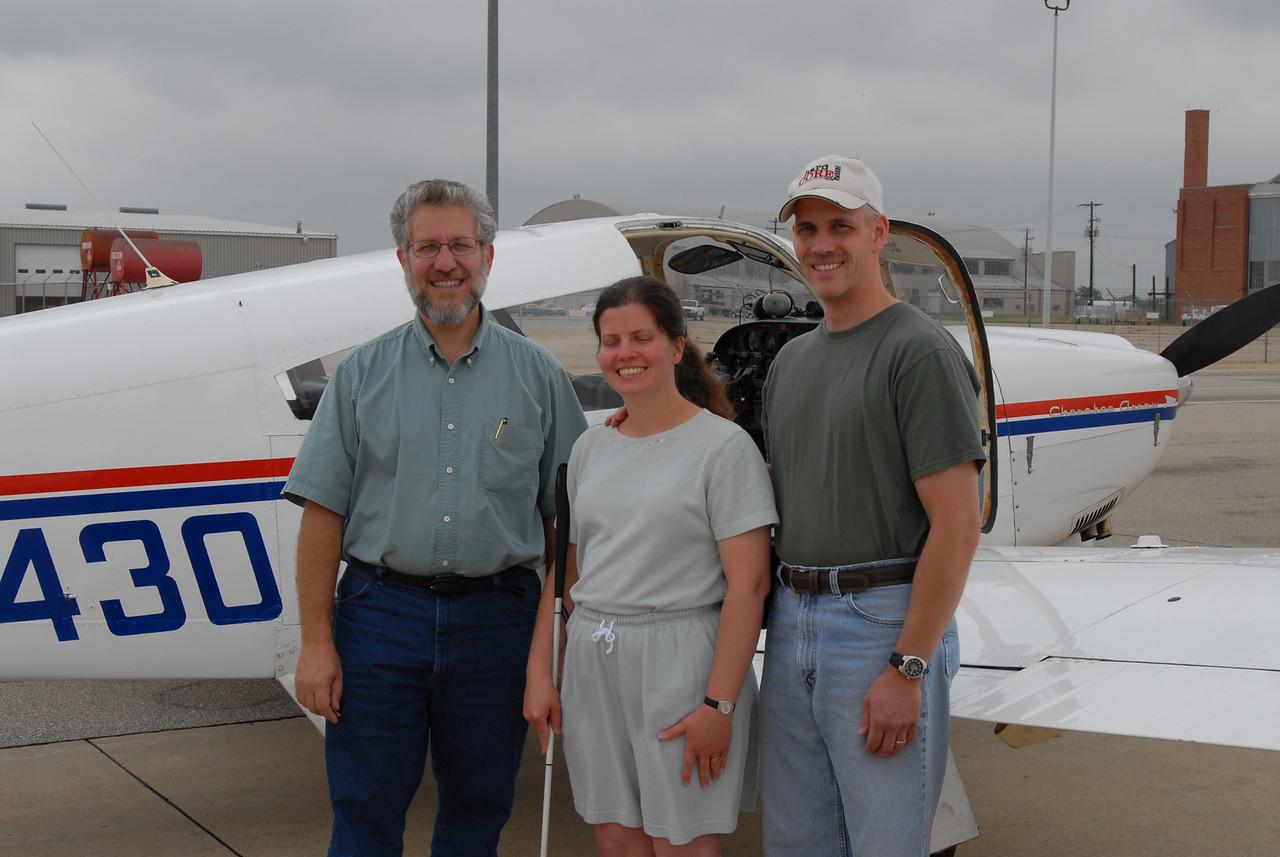 June 12, 2006. Art Zemon, Sheila M., Scott M.