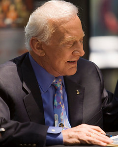 Buzz Aldrin, Apollo 11 lunar module pilot and the second person to walk on the Moon.