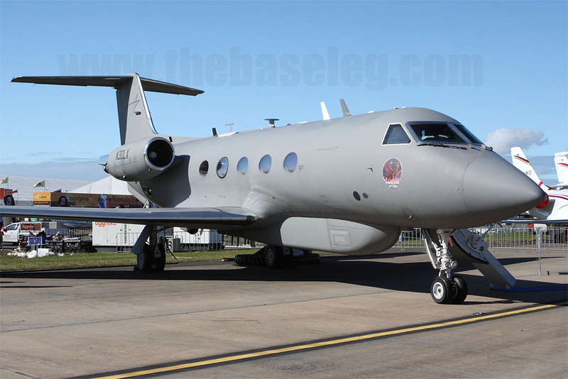 Gulfstream III N30LX which serves as a demonstrator for Lockheed Martin's Dragon Star ISR platform