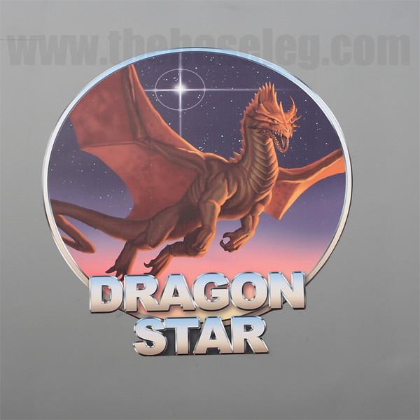 The very attractive Dragon Star logo on the Lockheed-Martin demonstrator of the Dragon Star ISR platform, based on a Gulfstream III.