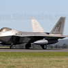 Making the type's debut at an airshow in the Asia-Pacific, USAF F-22A Raptor 06-0115 of the 525th Fighter Sqn, 3rd Wing. The 525th FS is currently on temporary detachment to Kadena AFB, Okinawa till April 2011