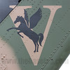 Insignia of Townsville-based Australian Army Aviation's 5th Aviation Regiment, on a S-70A-2 Blackhawk.