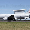 A30-003 is one of four Boeing Wedgetail AEW&C aircraft ordered by the RAAF, now serving with 2 Sqn at RAAF Williamtown.