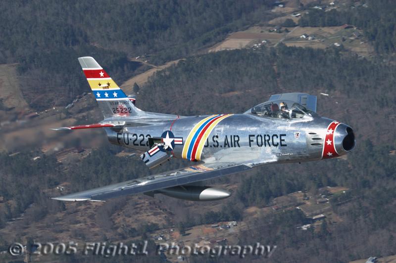 Wyatt Fuller's F-86 Sabre