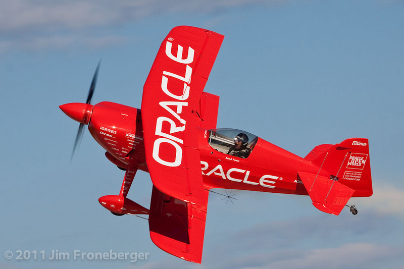 Sean D. Tucker in his Oracle Challenger