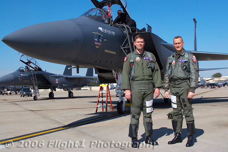 The 2006 USAF F-15E Stike Eagle Demo Team
