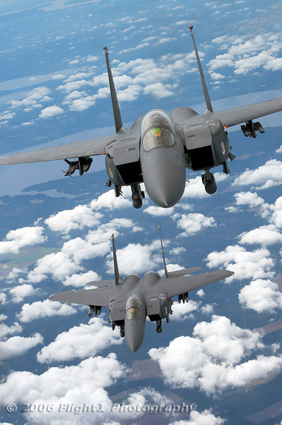 F-15E Strike Eagles from Seymour Johnson AFB