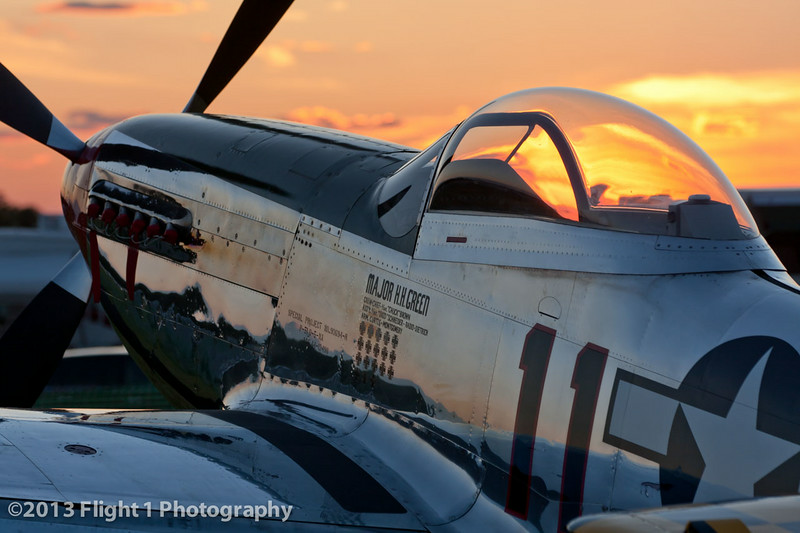 Another Mustang Sunset