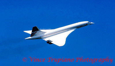 British Airways SST Concorde